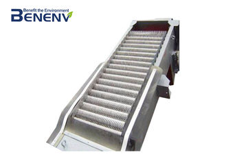 High Strength Mechanical Bar Screen  Self Cleaning Long Working Life
