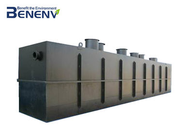 Energy Saving Sewage Water Treatment Plant No Odor No Excess Sludge