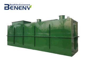 Integrated MBBR Compact Wastewater Treatment System  Sewage Treatment Equipment