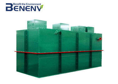 Integrated Wastewater Treatment Tank Stable  Performance Easy To Operate