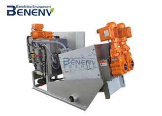 Low Noise  Sludge Dewatering Equipment Stable Performance Easy To Operate