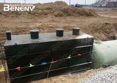 Industrial Grey Sewage Treatment Equipment  Domestic Water Recycling
