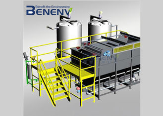 High Efficiency  Sludge Press Machine Low Noise Environmental Protection